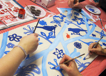 Painting Parties Hen Party London Art Craft creative