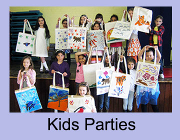 Childrens Birthday Parties Art